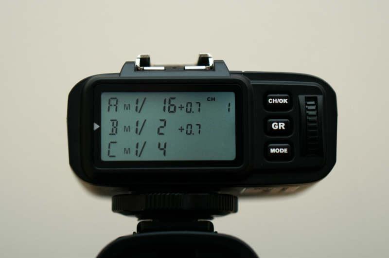 Godox X1T-Sの設定