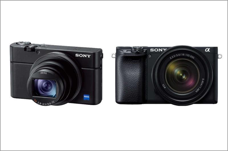 RX100M6とα6400の違い サイズ、価格、特徴など徹底比較!