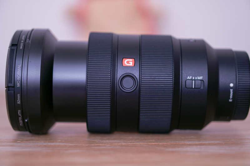 SEL2470GM(FE 24-70mm F2.8 GM)はズームの時、伸びるよ