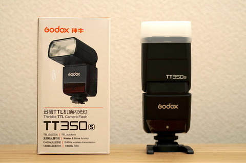 Godox TT350Sの正面写真
